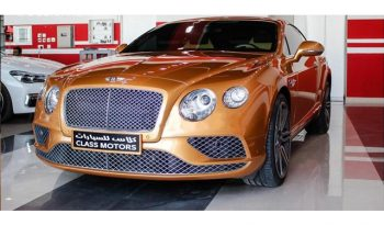 Sell Used Bentley Continental 2016 full